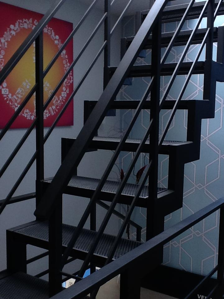 escalera terraza
