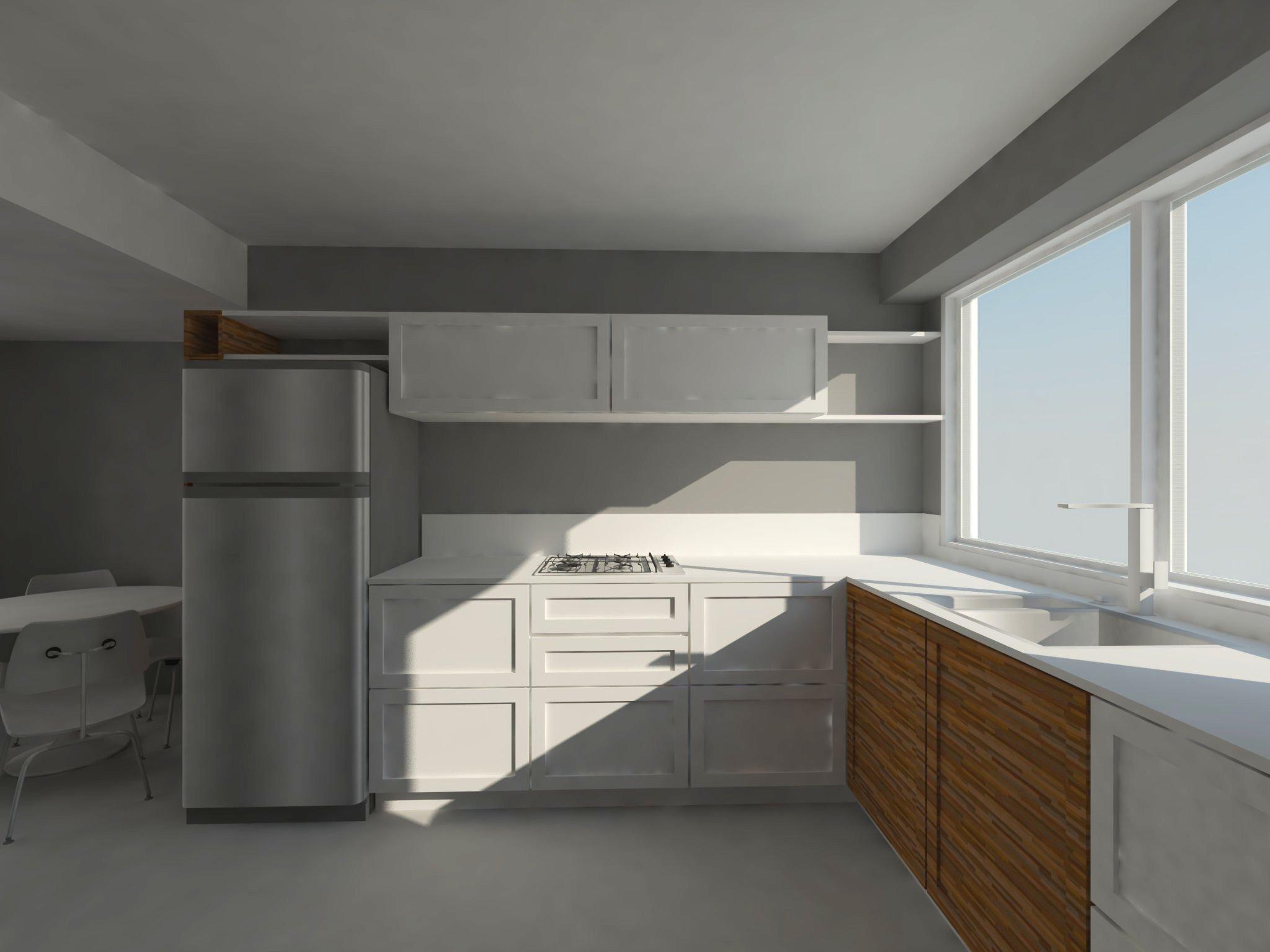 Render cocina 5 estudio arquitecta moriello i proyectos for Cocinas quetzal